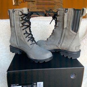 Sorel Phoenix Lace Moto Boot